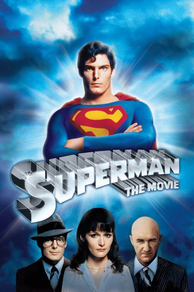 Superman: The Movie poster