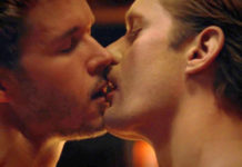 True Blood - Jason kissing Eric