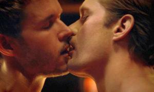True Blood - Jason kissing Eric