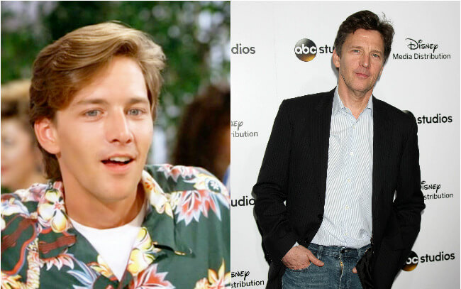 Andrew McCarthy - Then and Now