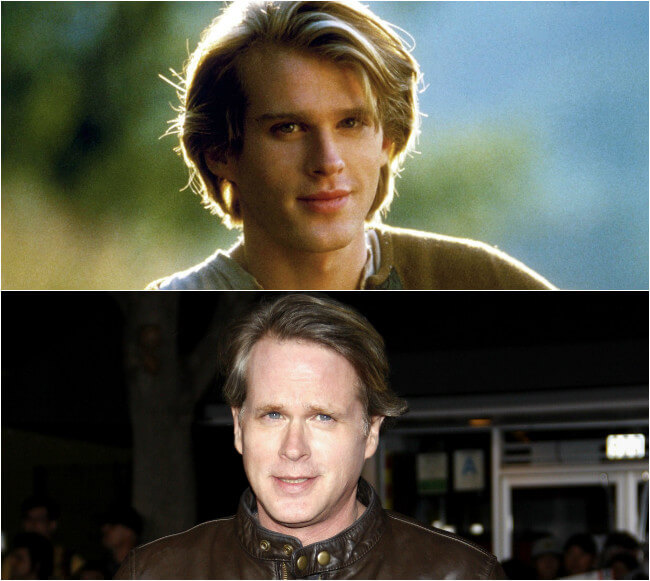 Cary Elwes - Then and Now