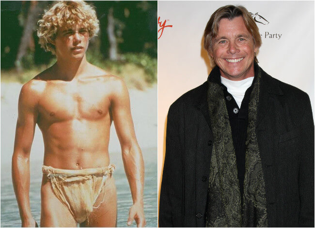 Christopher Atkins - Then and Now2012