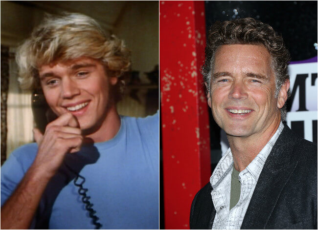 John Schneider - Then an Now