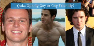 Quiz - Openly Gay or Gay Friendly