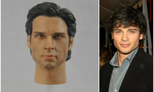 Tom Welling - And his head
