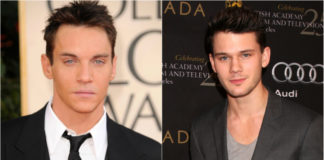 Jonathan Rhys Meyers and Jeremy Irvine