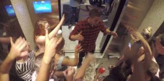 Nick Jonas - in the elevator
