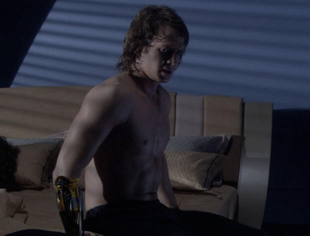 anakin shirtless