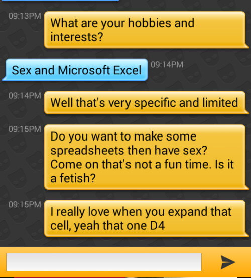Excel Fetish
