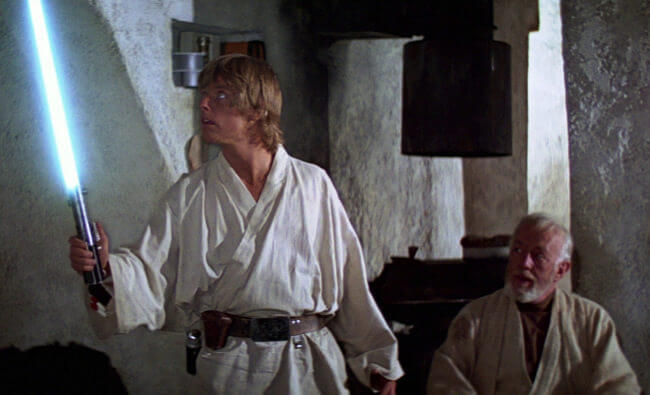 """Luke and Obi - """"Look at the size of that thing!"""""""
