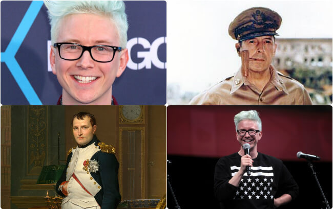 Quiz: Who Said It – Tyler Oakley Or A Historical Military Leader?