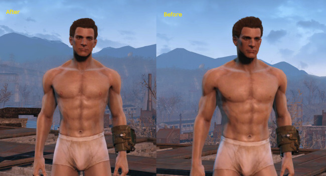 Better Chest and Nipples for Fallout 4