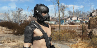 Black Leather Armor Mod for Fallout 4