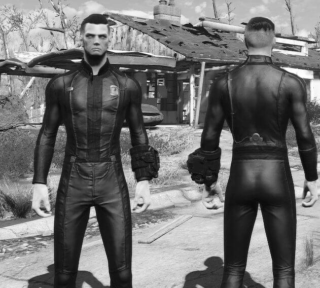 Black Vault Suit Fallout 4 Mod