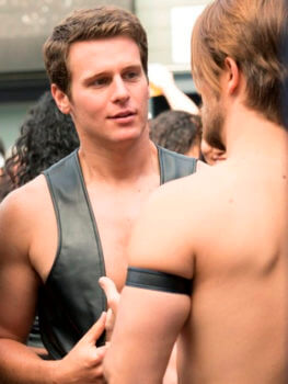 Jonathan Groff Looking Might Hot in Leather