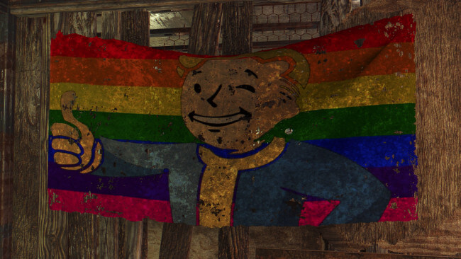 Pride Flag for Fallout 4