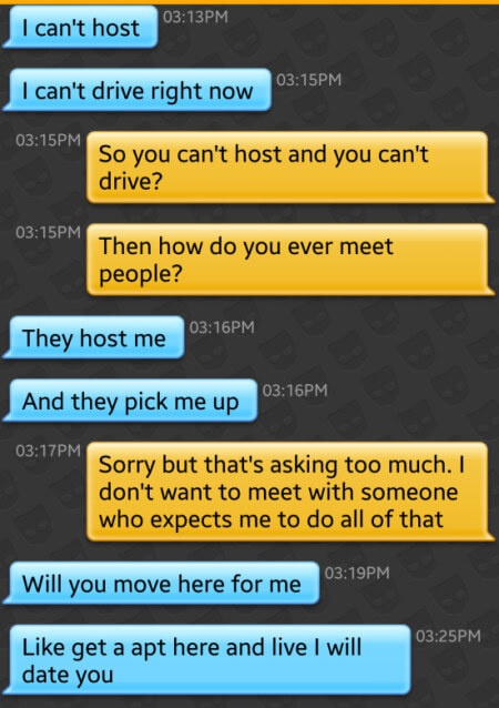 Grindr fails - Anything else I can do for you?