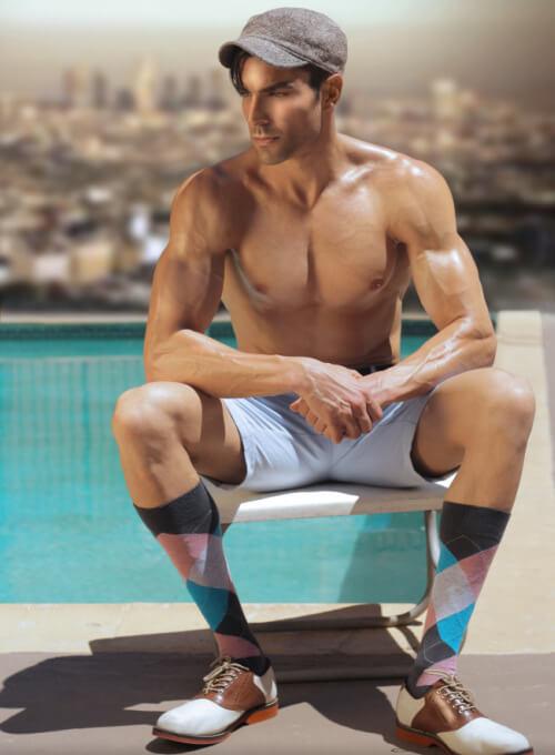 Don't wear white socks