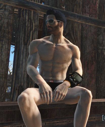 premium underwear Fallout 4 mod