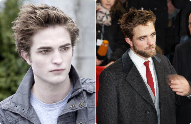 Robert Pattinson - Then and Now