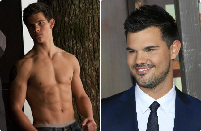 Taylor Lautner - Then And Now