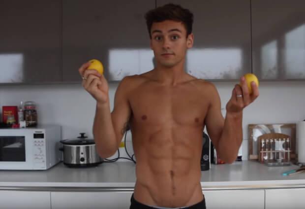 Tom Daley and his Lemons