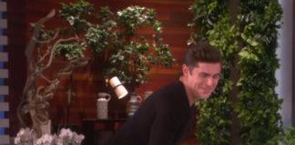 Zac Efron Twerking on Ellen