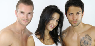 Bisexual men and one woman