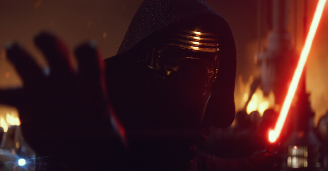 Kylo Ren - The force is strong with this one?