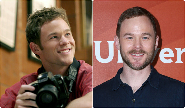 Aaron Ashmore - Then and Now