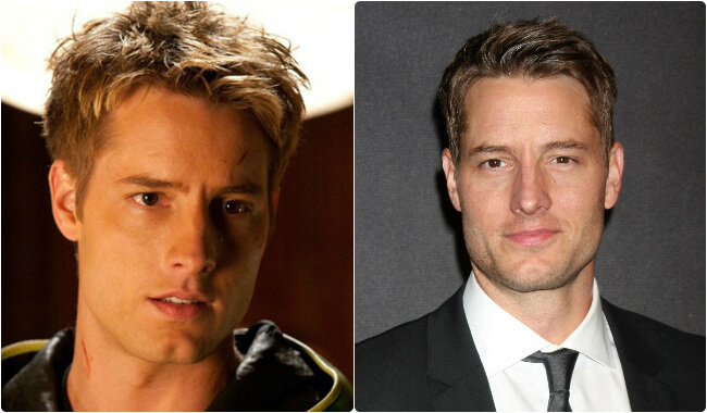 Justin Hartley - Then and Now1