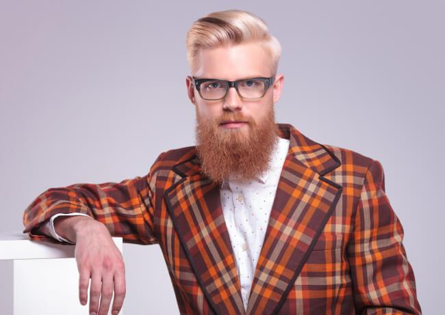 A man with a long beard