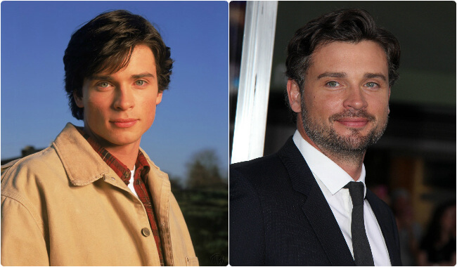 Tom Welling - Then and Now