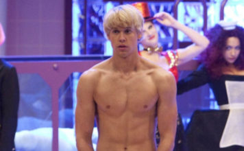 Chord Overstreet as Rocky Horror