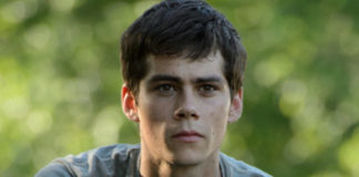 Dylan O'Brien On The Maze Runner