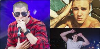 Nick Jonas, Justin Bieber and Steve Grand