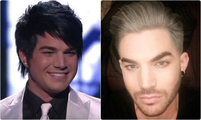 Adam Lambert - Then and Now