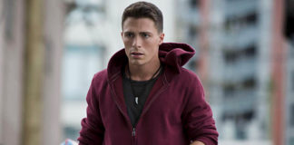 Colton Haynes - on Arrow