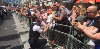 Gay police officer proposal