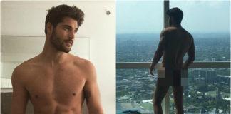 Nick Bateman gets naked on instagram
