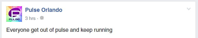 Pulse Facebook message
