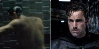 Ben Affleck Batman shower scene