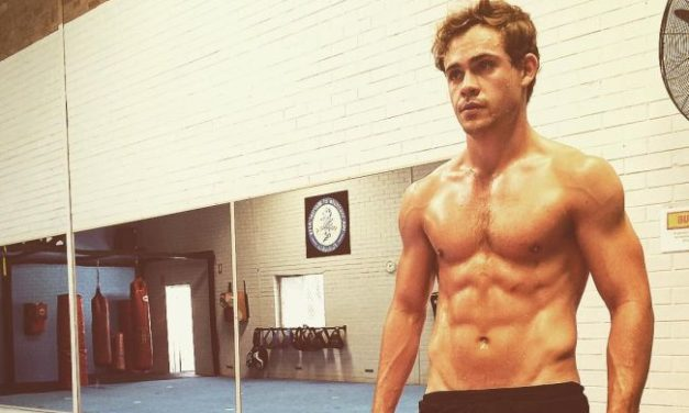 Dacre Montgomery, The Red Power Ranger, Had To Dance Naked For A Role