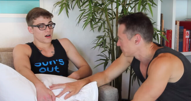 Davey Wavey and Blake Mitchell