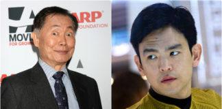 Two Sulus - George Takei and John Cho