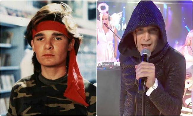 Corey Feldman - then and now