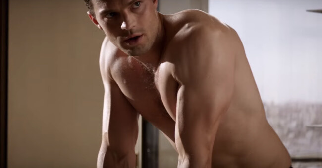 Jamie Dornan in the Fifty Shades Darker trailer