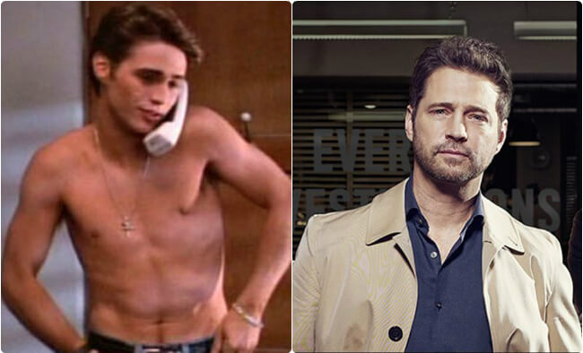 Jason Priestly - Then and Now