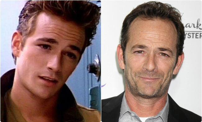 Luke Perry - Then and Now