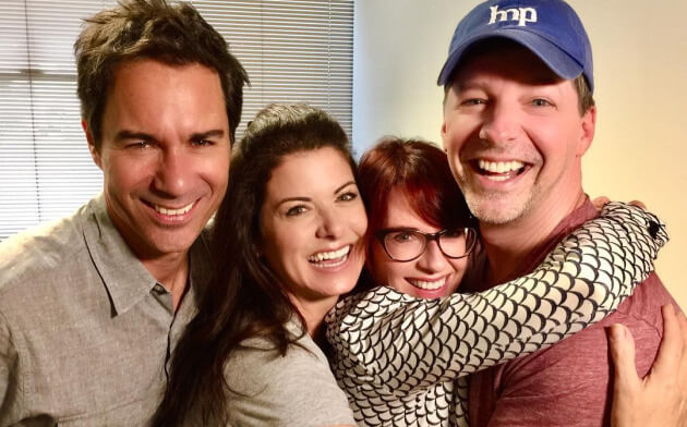 Will and Grace cast reunited